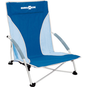 Brunner Cuba Chaise de plage, blue/lightblue